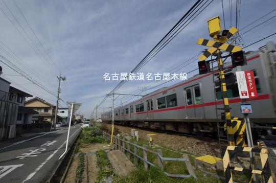 名鉄名古屋本線牛田駅