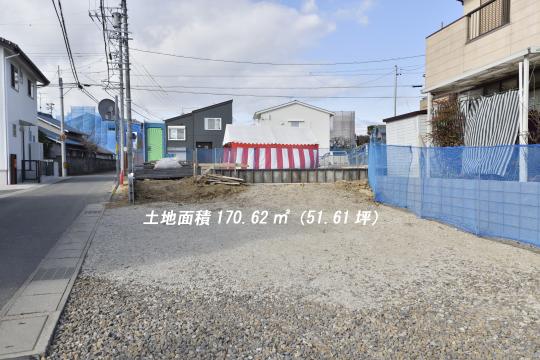 東浦町石浜青木の4LDKは土地面積51.64坪です。