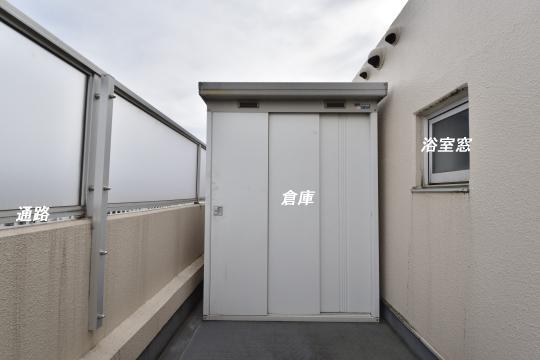 真栄マンション東刈谷601号室の物置です。