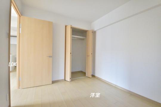 ユーハウス第二刈谷2B号室の洋室です。