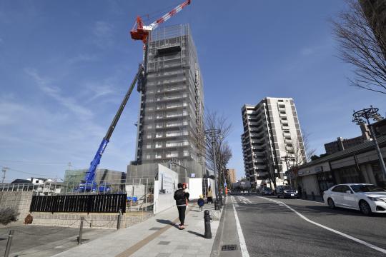 2019年2月25日撮影したエクセルグランデ刈谷銀座タワーです。
