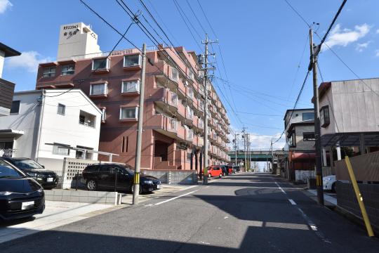 真栄マンション東刈谷と知立バイパスの位置が分かります。