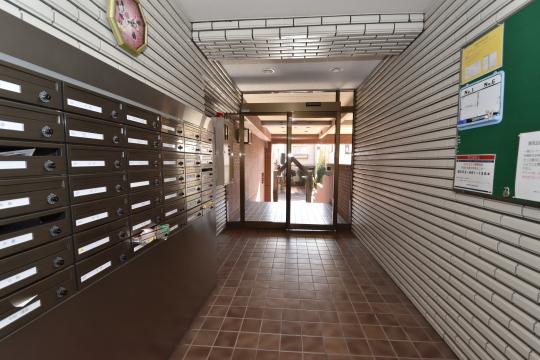 真栄マンション東刈谷の集合ポストです。