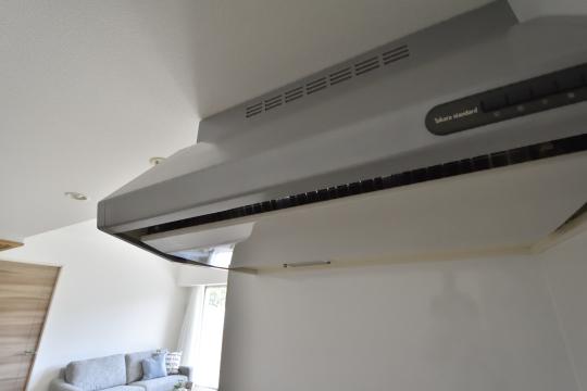 アトレ東刈谷グリーティングコートのキッチン換気扇。