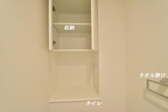アトレ東刈谷グリーティングコートのトイレ収納。