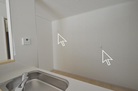 冷蔵庫・家電置き場
