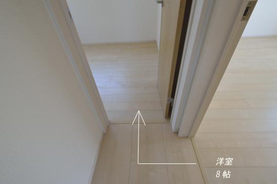 安城市新築分譲 二階洋室