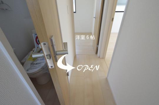 二階トイレ 安城市新築分譲