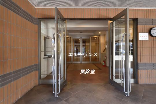 ダイアパレス刈谷司町の風除室