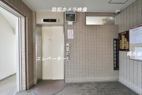 グローリアス刈谷のエレベーター