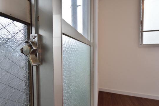 エスポア刈谷の掃き出し窓鍵