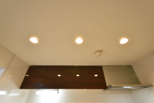 エスポア刈谷のキッチン天井