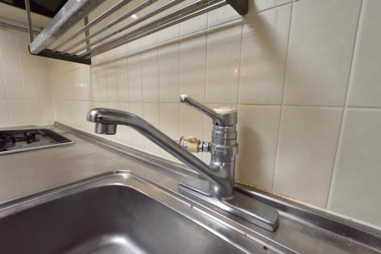 グローリアス刈谷のキッチン水栓