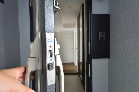 エスポア刈谷の玄関ドアを開けました