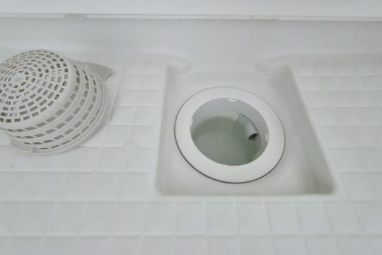 カルティア刈谷松坂浴室の排水口