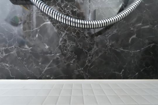 カルティア刈谷松坂のシャワー蛇腹ホースは美しい