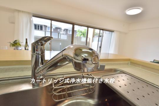 フレストスクエア刈谷逢妻のキッチン水栓