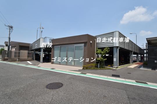 カルティア刈谷松坂のゴミステーション