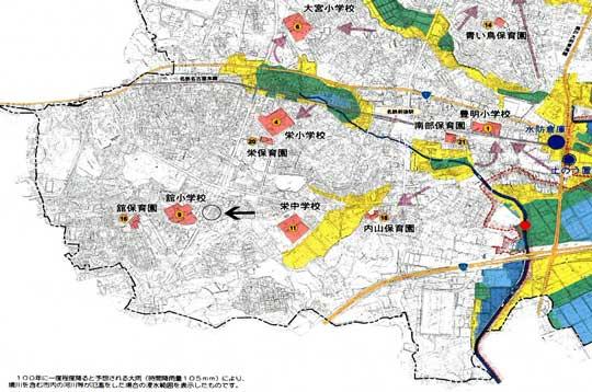 豊明市新栄町 ハザードマップ