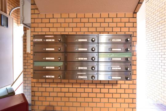 大和レジデンス相生Ⅱの郵便ポスト