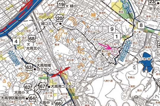名古屋市緑区 ハザードマップ