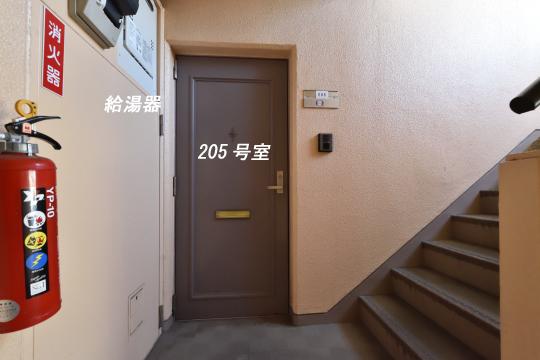エスぺランタ安城の玄関ドア