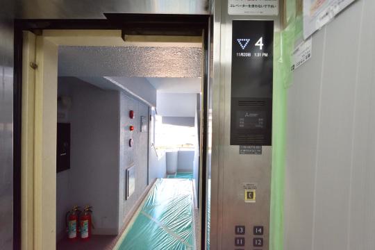 エスポア刈谷の4階に到着した写真
