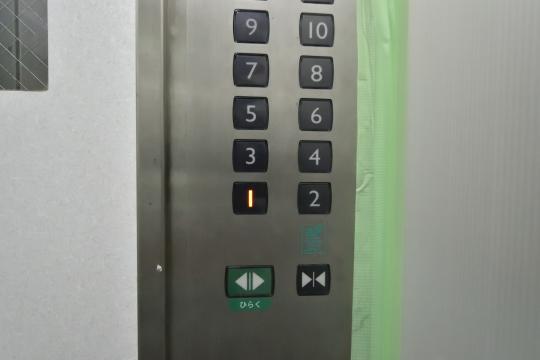 エスポア刈谷のエレベーター