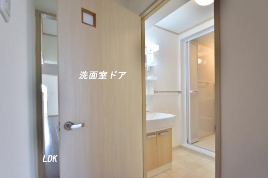 エスぺランタ安城の洗面室ドア