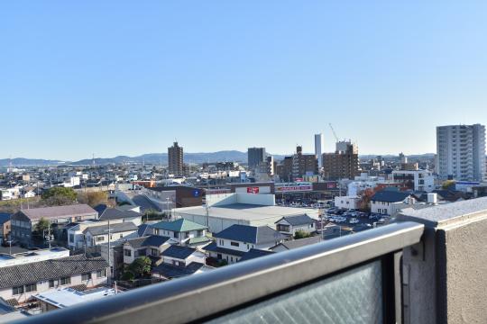 サンアメニティ安城朝日から眺めるバロー