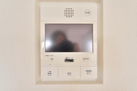 サンアメニティ安城朝日のテレビモニター付きインターフォン子機