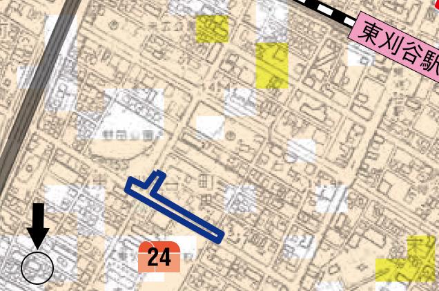 アーバンライフ東刈谷ハザードマップ