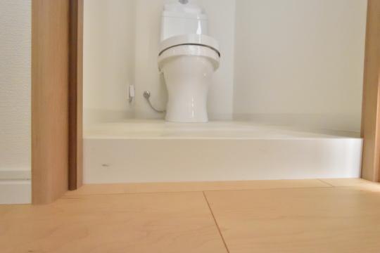 アーバンライフ東刈谷のトイレは段差有り