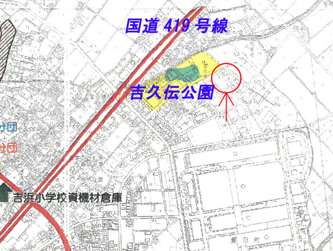 高浜市豊田町ハザードマップ