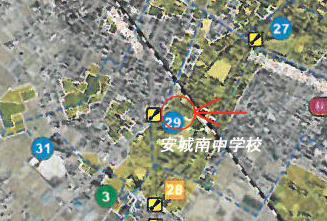 安城市城南町ハザードマップ