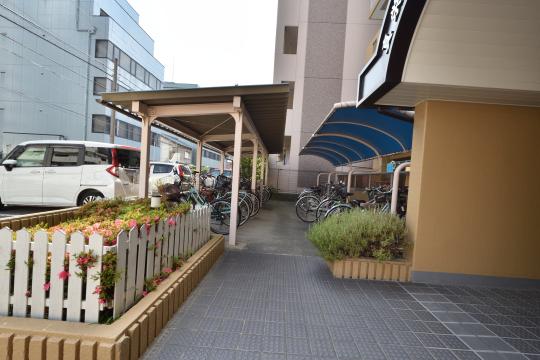 真栄マンション刈谷の駐輪場