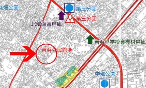 高浜市ハザードマップ