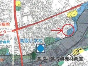 本郷町ハザードマップ