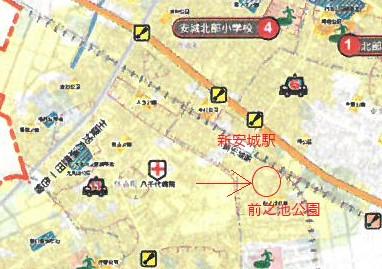 安城ハザードマップ
