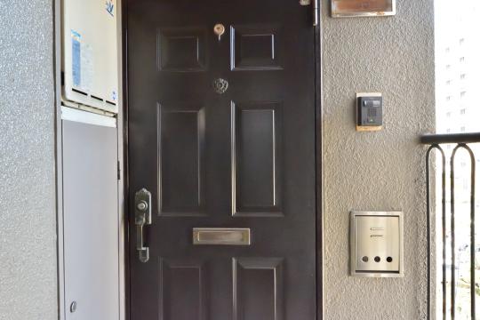 ユニオンハイツ刈谷東陽の玄関ドア