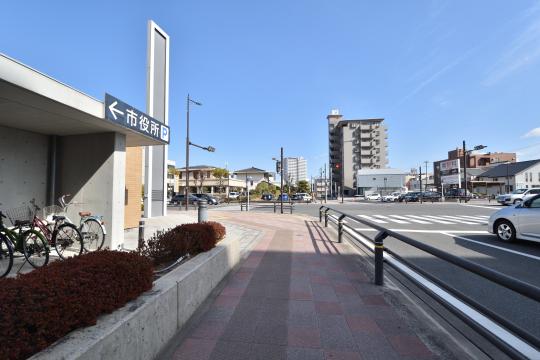 ユニオンハイツ刈谷東陽と市役所駐輪場