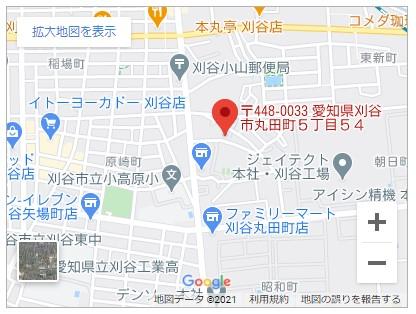 刈谷市丸田町五丁目【全1邸】地図