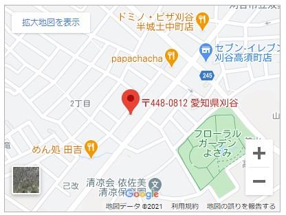 刈谷市高須町2丁目【全2棟】地図