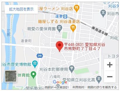 メルディア熊野町7丁目【全2棟】地図