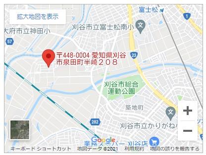 刈谷市泉田町半崎【全3棟】地図