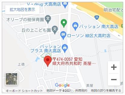 大府市共和町茶屋【全1邸】地図
